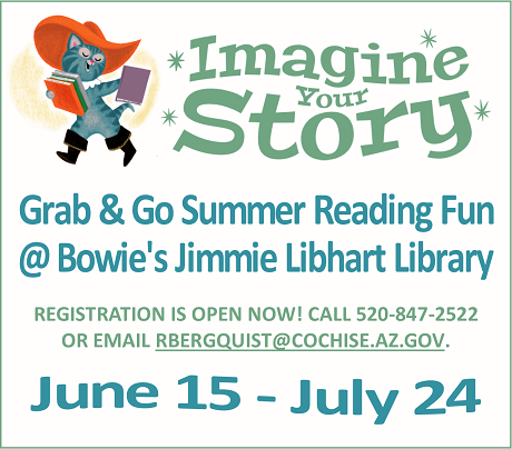 Summer reading promo with cat