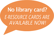 E-Resource Card callout orange