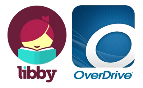 Libby and OverDrive logos