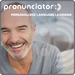 picture of man promoting pronunciator database